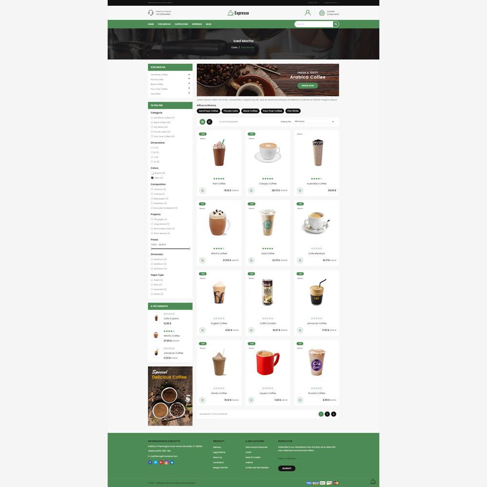 theme - Cibo & Ristorazione - Negozio di caffè espresso - 3