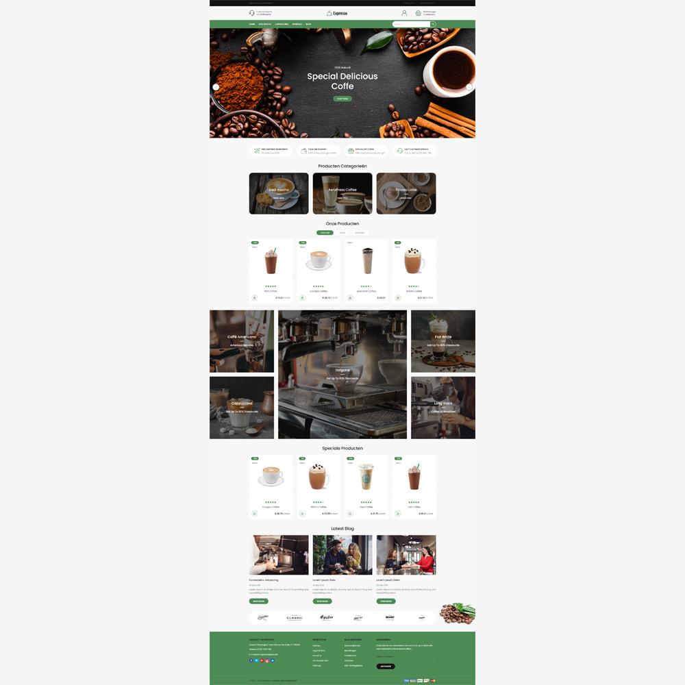 theme - Eten & Restaurant - Expresso Coffee Store - 2
