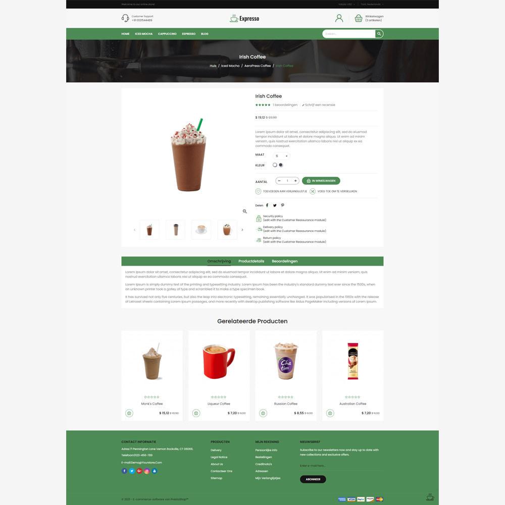 theme - Eten & Restaurant - Expresso Coffee Store - 4
