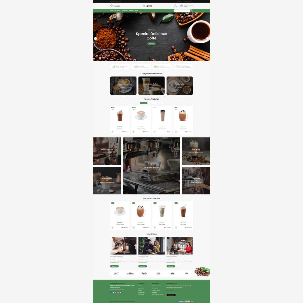 theme - Alimentos & Restaurantes - Expresso Coffee Store - 2