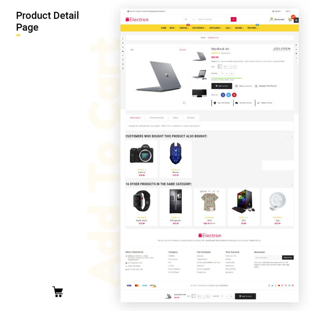 theme - Electrónica e High Tech - Electros High–Tech Gadgets–Electronics Mega Store - 8
