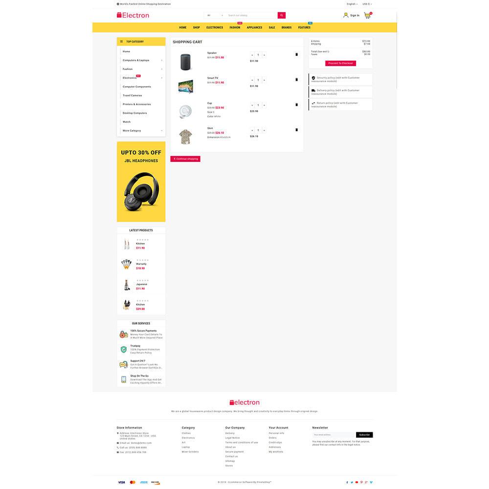 theme - Electrónica e High Tech - Electros High–Tech Gadgets–Electronics Mega Store - 9