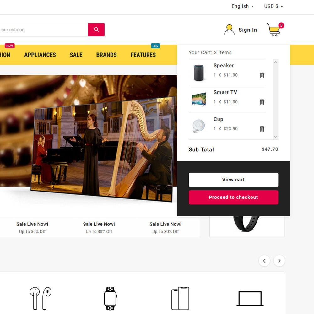 theme - Electrónica e High Tech - Electros High–Tech Gadgets–Electronics Mega Store - 7