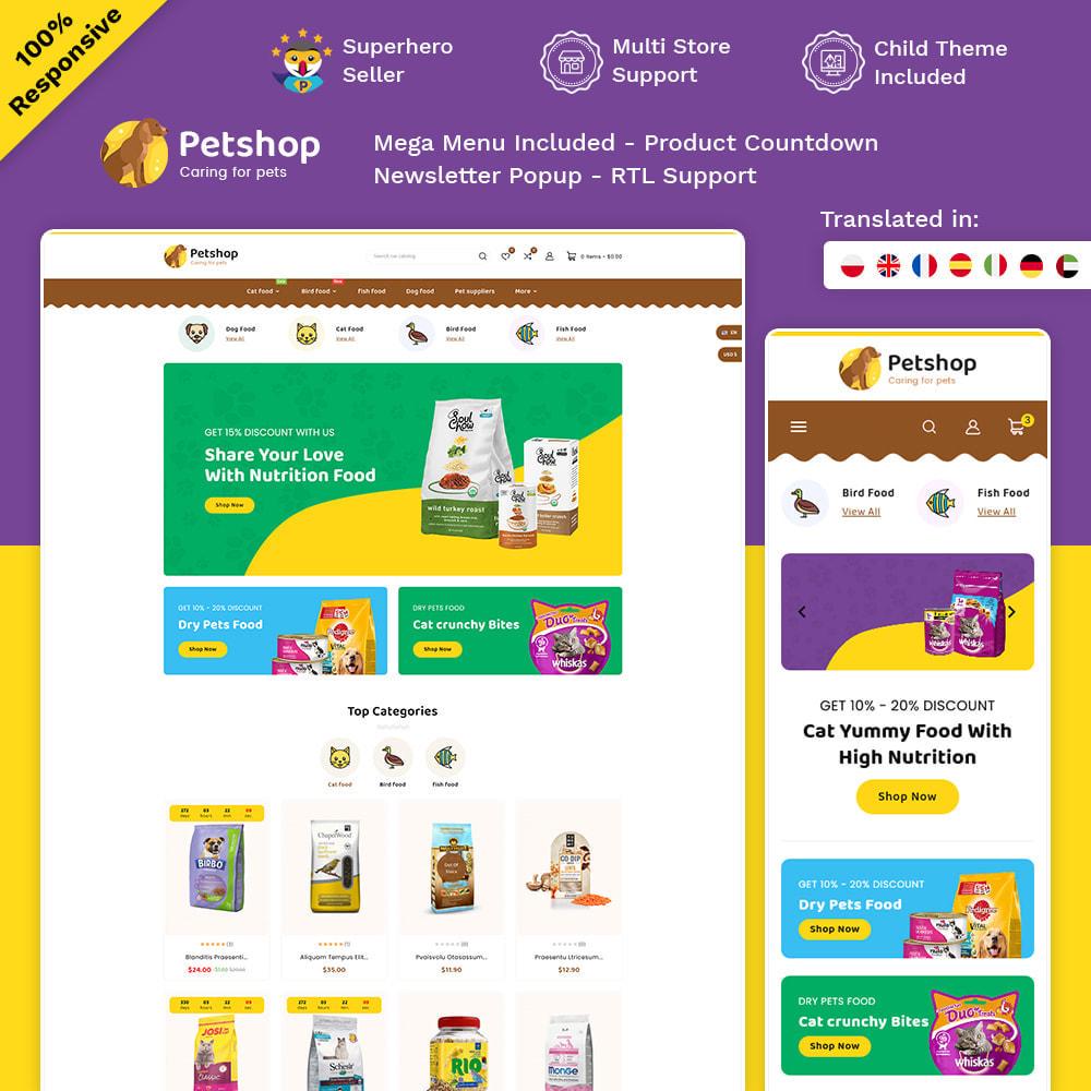 theme - Dieren - Petstore - Animals & Pets Care Store - 1