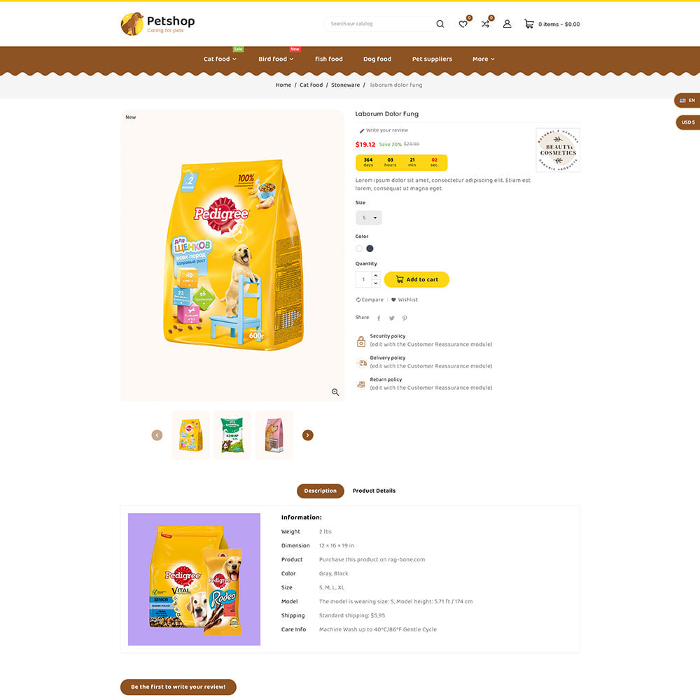 theme - Dieren - Petstore - Animals & Pets Care Store - 7