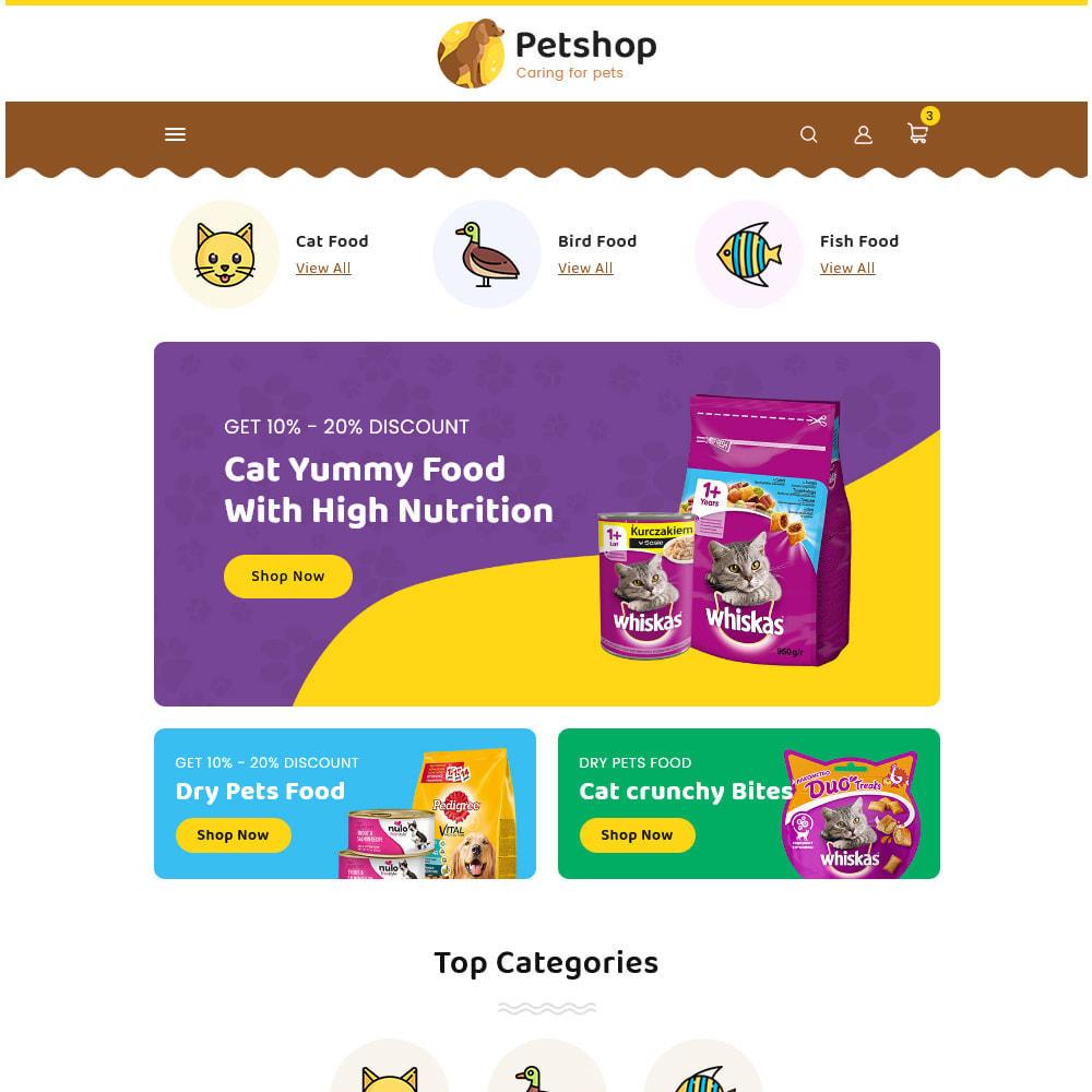 theme - Dieren - Petstore - Animals & Pets Care Store - 14