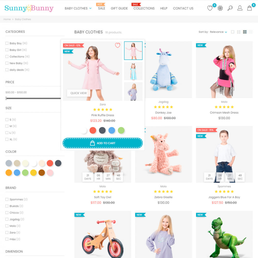 theme - Enfants & Jouets - Kids & Toys - Clothes & Shoes, Fashion, Baby, Joy - 5