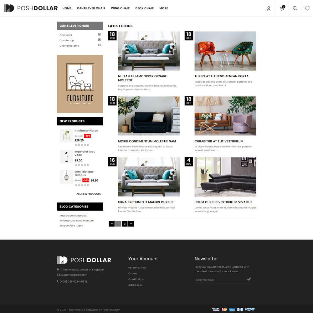 theme - Home & Garden - Poshdollar - Furniture Store - 6