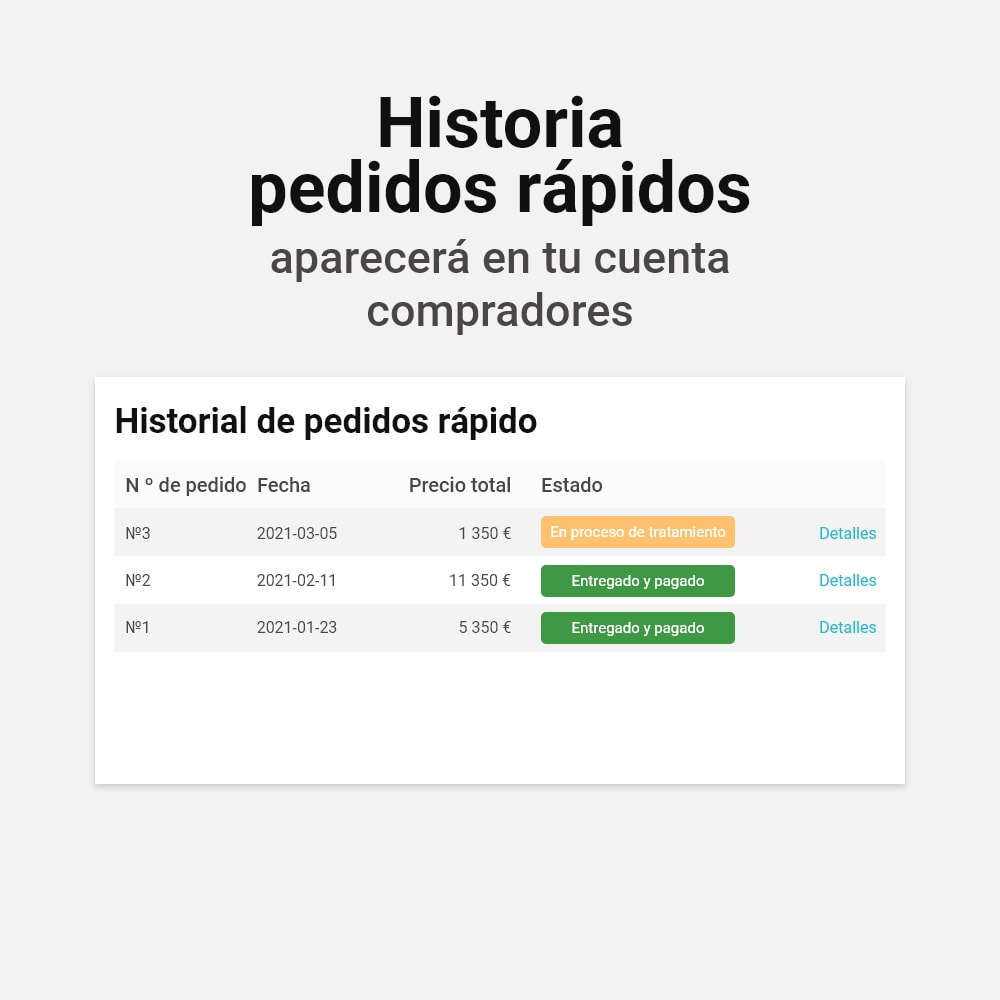 module - Proceso rápido de compra - Pedido con un clic - 5