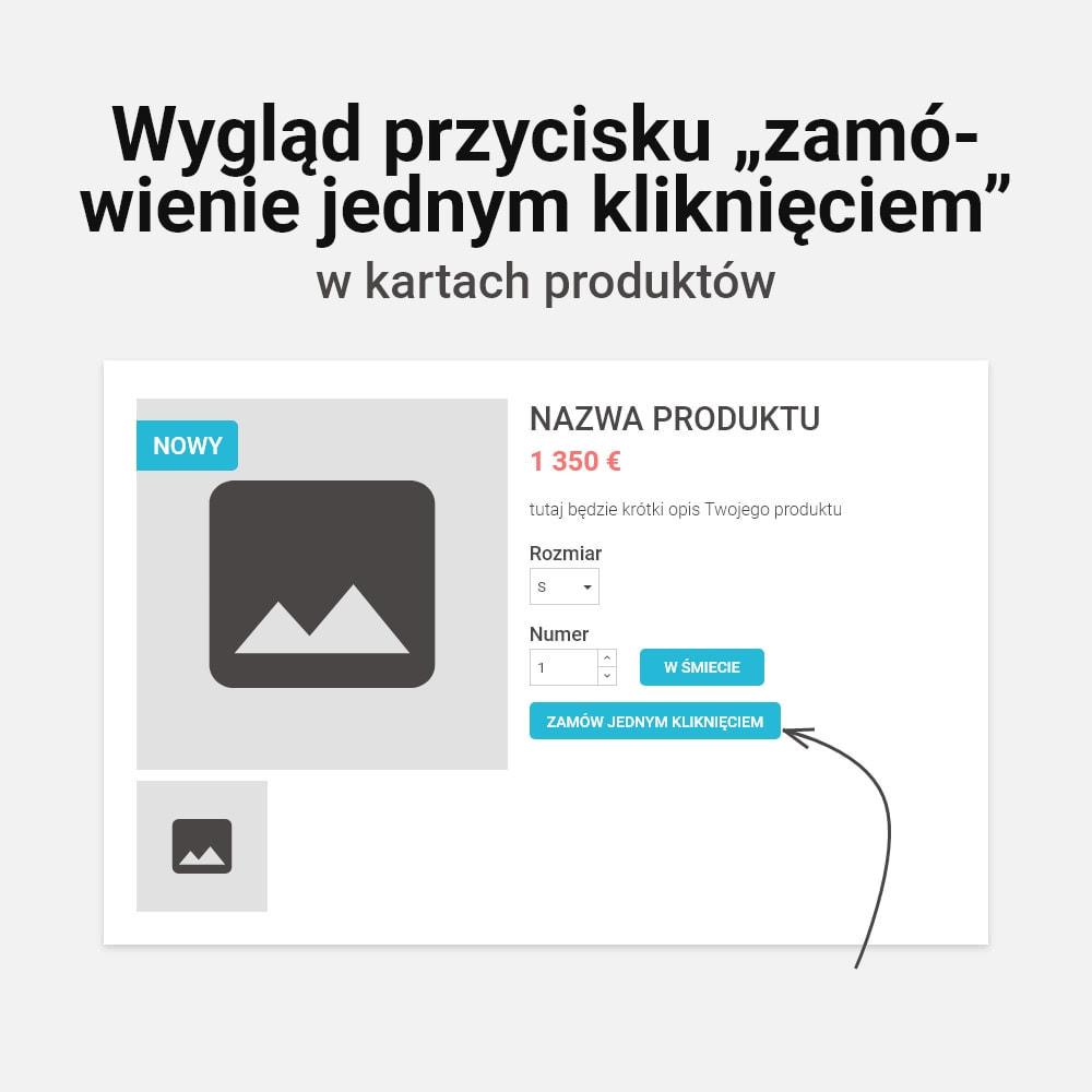 module - Szybki proces składania zamówienia - Zamówienie jednym kliknięciem! - 2