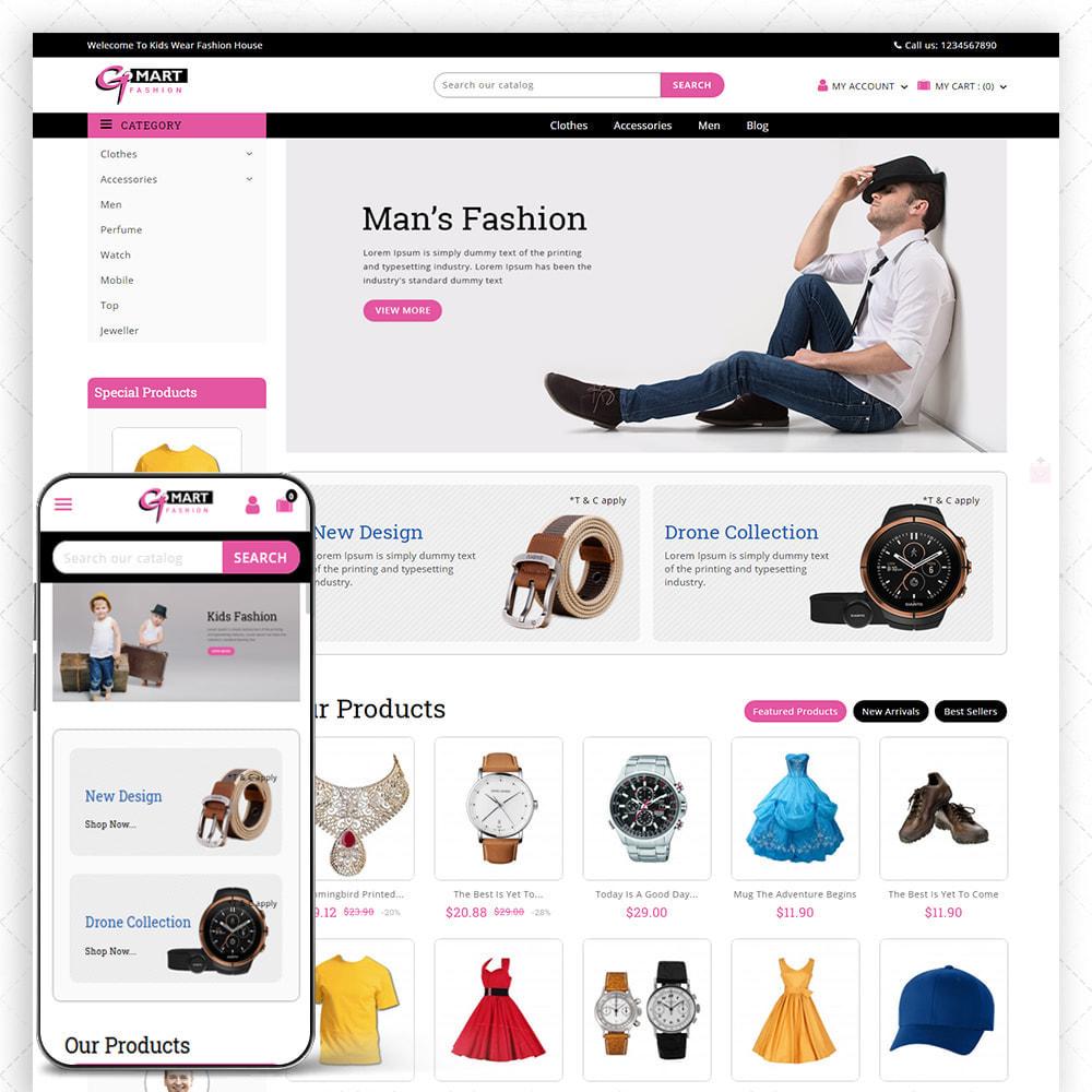 theme - Fashion & Shoes - G-Mart - 1
