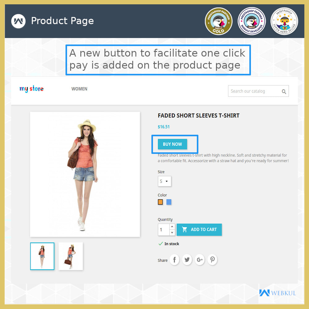 module - Bestelproces - One Click Pay | Hassle Free Checkout - 3