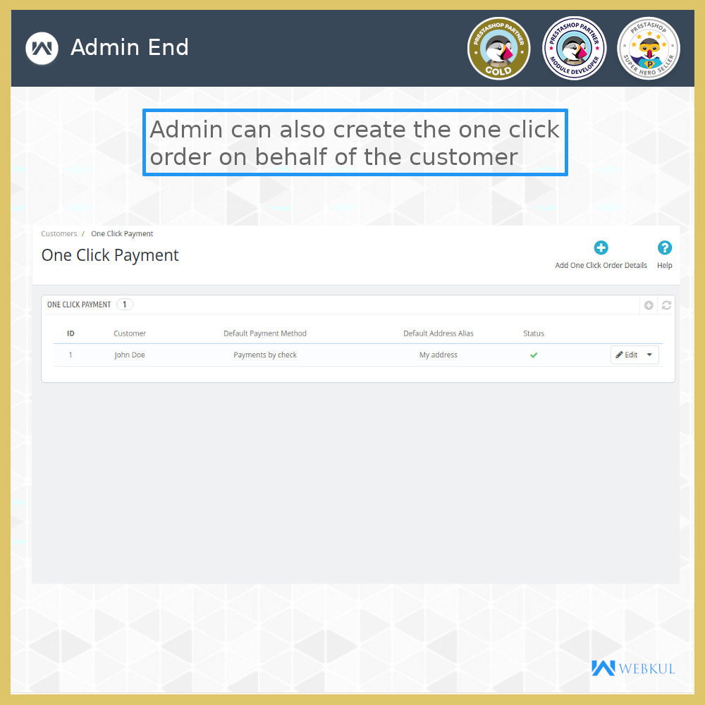 module - Bestelproces - One Click Pay | Hassle Free Checkout - 7