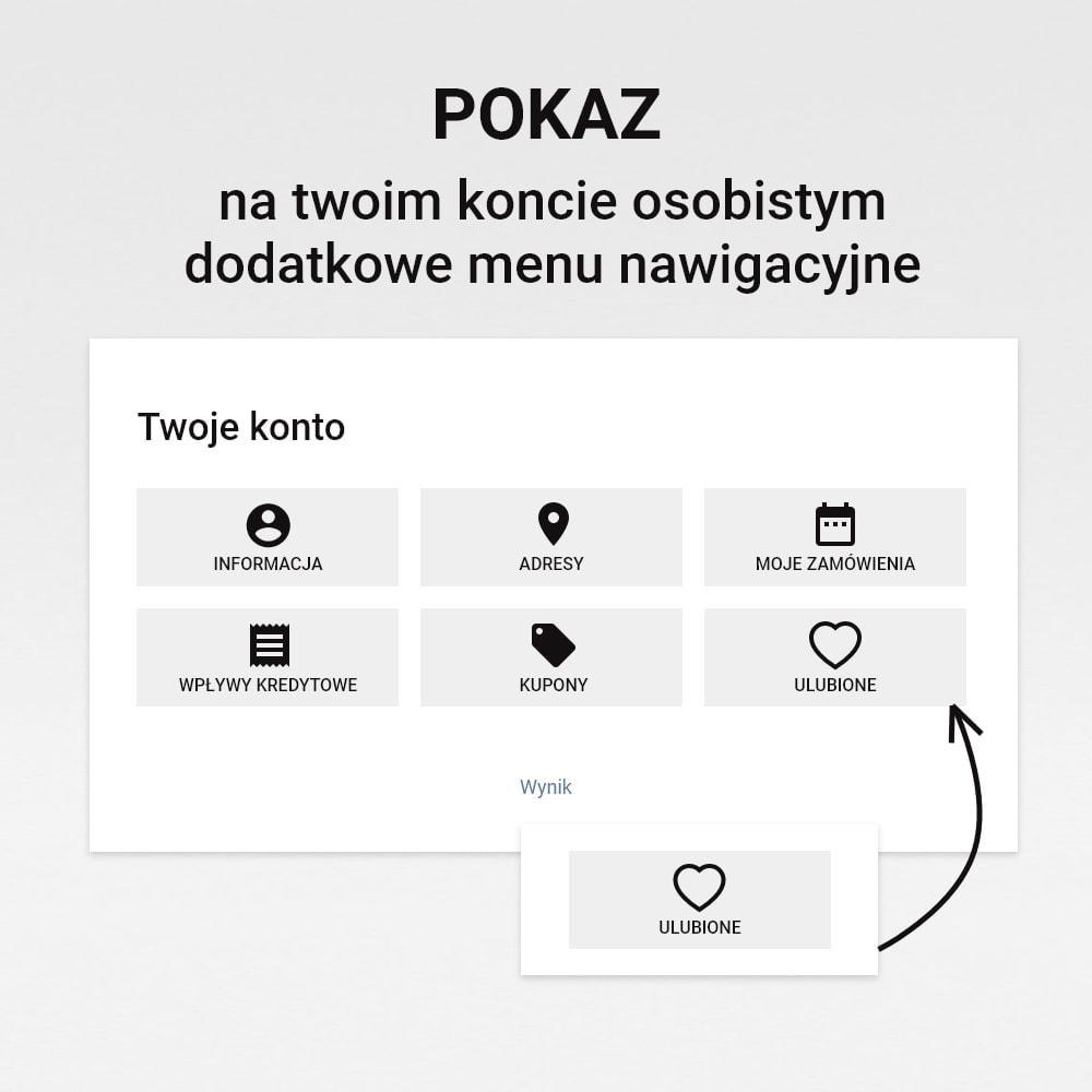 module - Lista życzeń & Karta podarunkowa - Lista życzeń - 7