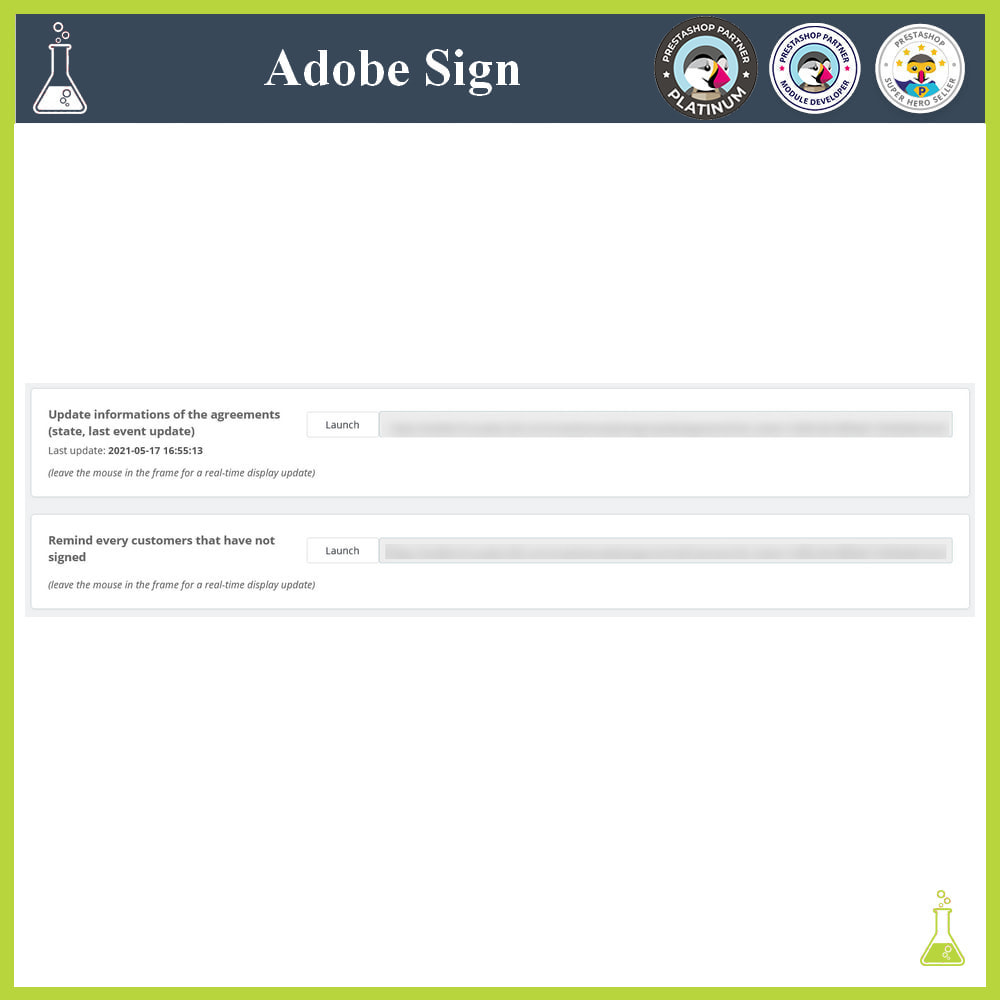 module - Administrative Tools - Adobe Sign: Electronic signatures - 4