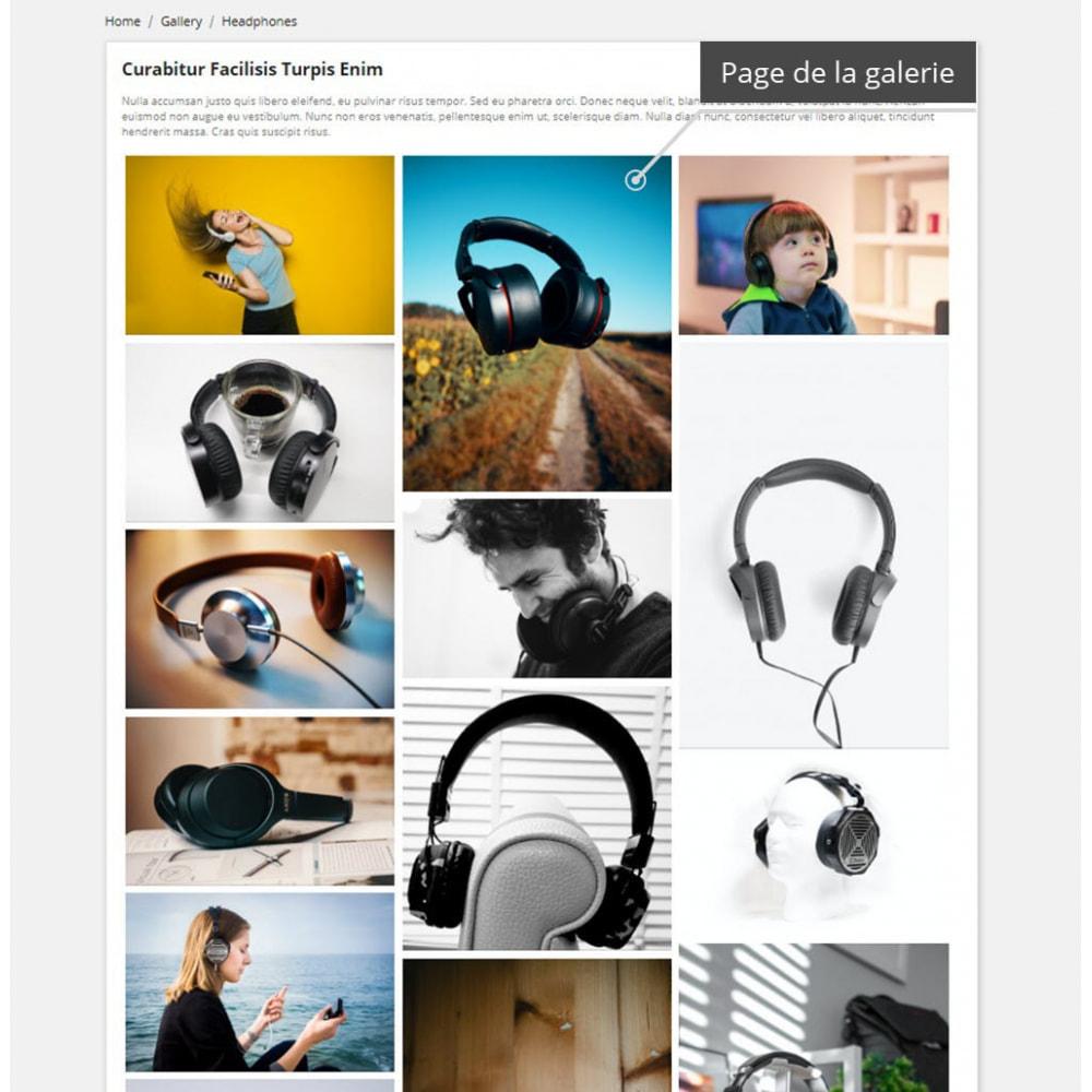 module - Sliders & Galeries - Galerie professionnelles ( image gallery ) - 2