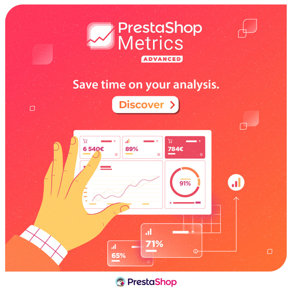 module - Análises & Estatísticas - PrestaShop Metrics - 5