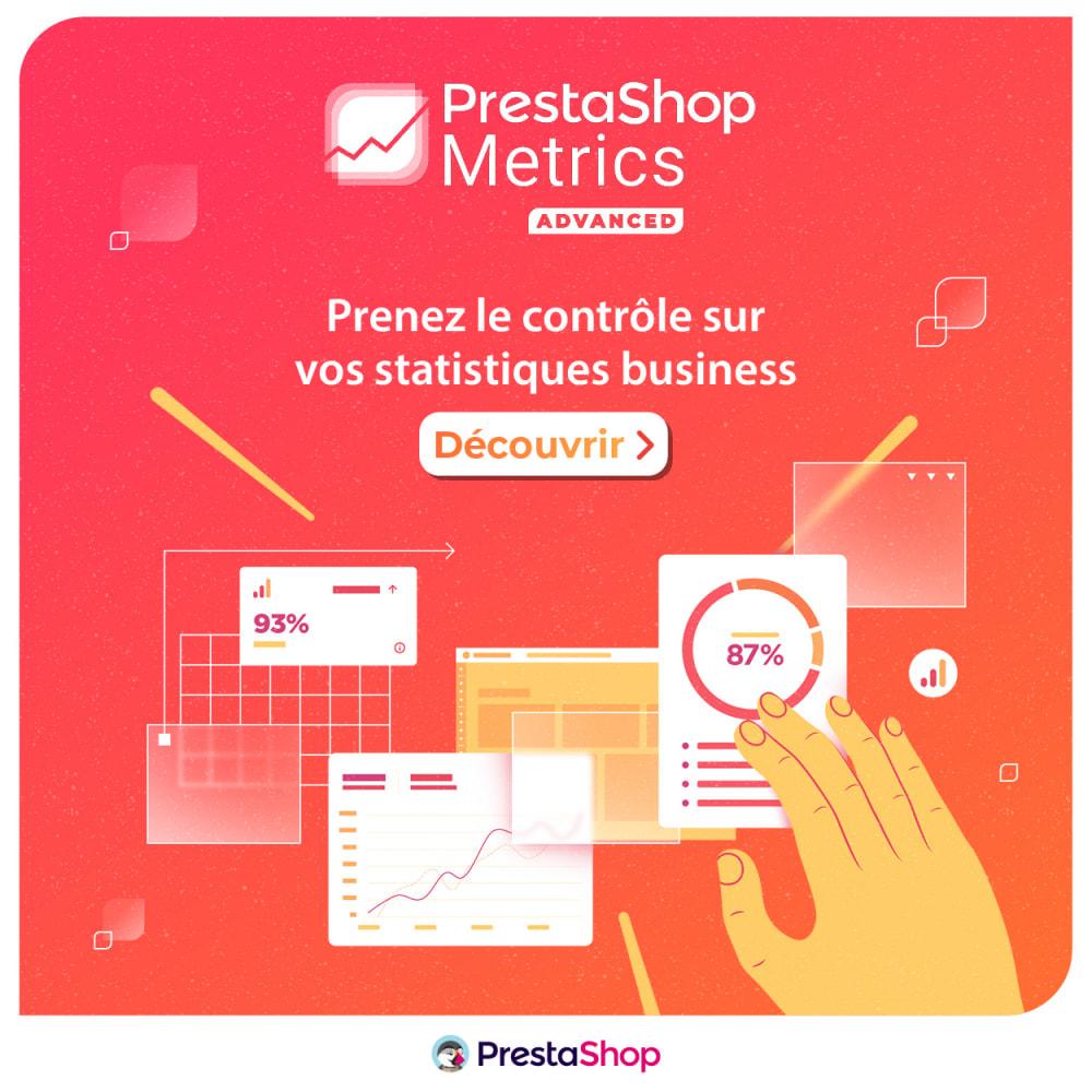 module - Analyses & Statistiques - PrestaShop Metrics - 4