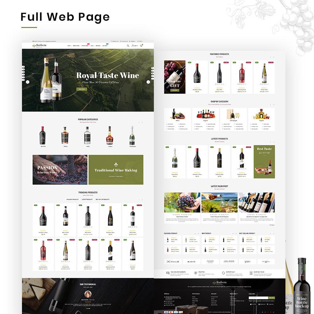 theme - Napoje & Wyroby tytoniowe - Barbera Mega Wine–Vin Liquor–Alcohol Super Store - 2