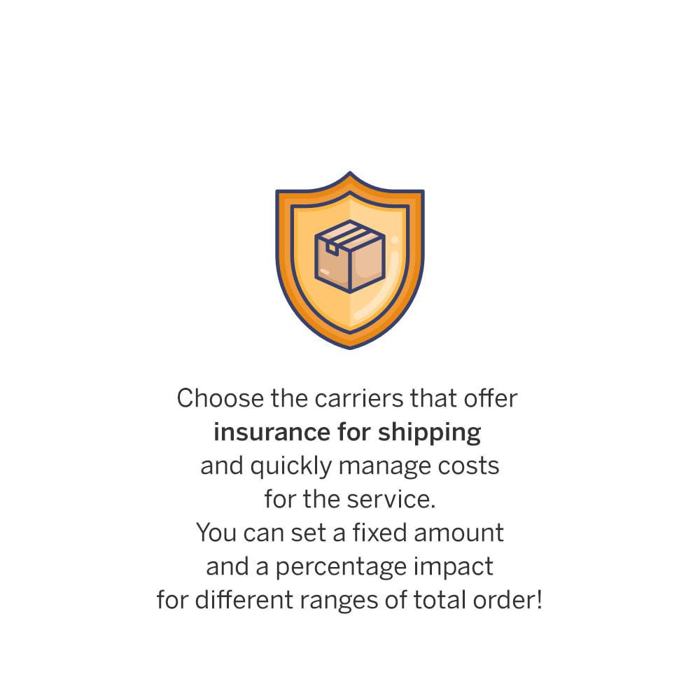 module - Shipping Costs - Insured Shipping - 1