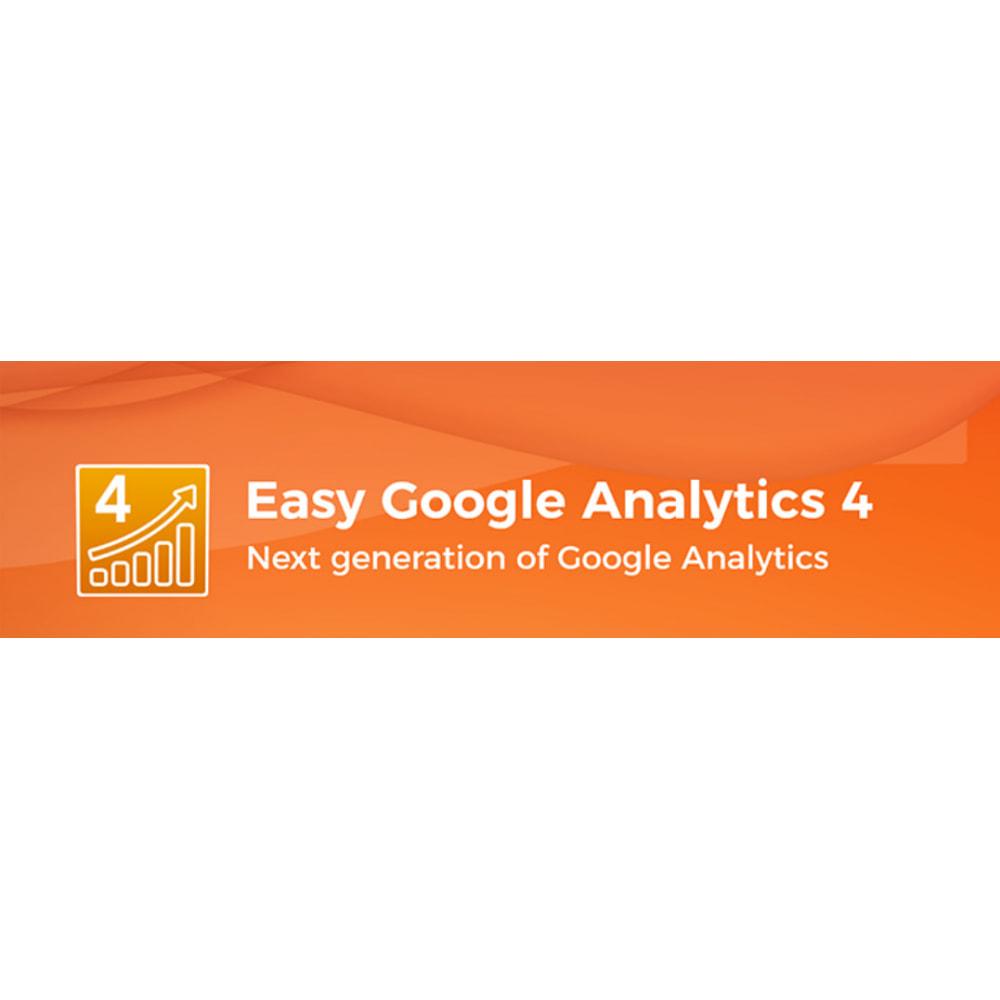 module - Analytics & Statistics - Google Analytics GA4  & Universal Analytics - NEW API - 2