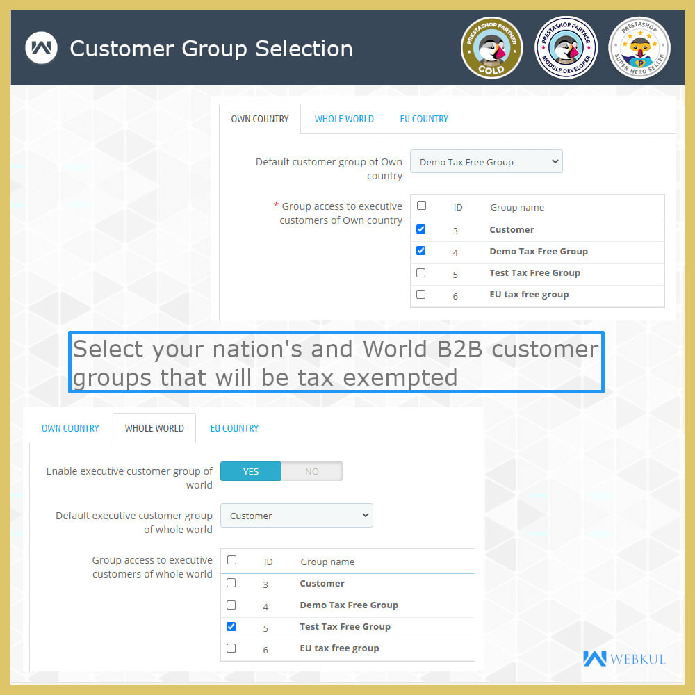 module - Accounting & Invoicing - B2B Invoicing   Tax Exemption For Business Customers - 6