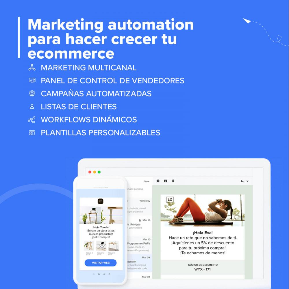 module - Remarketing y Carritos abandonados - Carts Guru | SMS, email y Facebook messenger marketing - 2