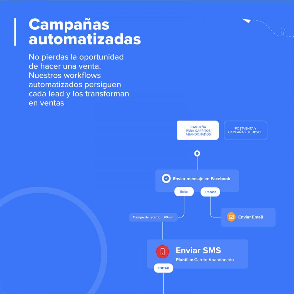 module - Remarketing y Carritos abandonados - Carts Guru | SMS, email y Facebook messenger marketing - 3