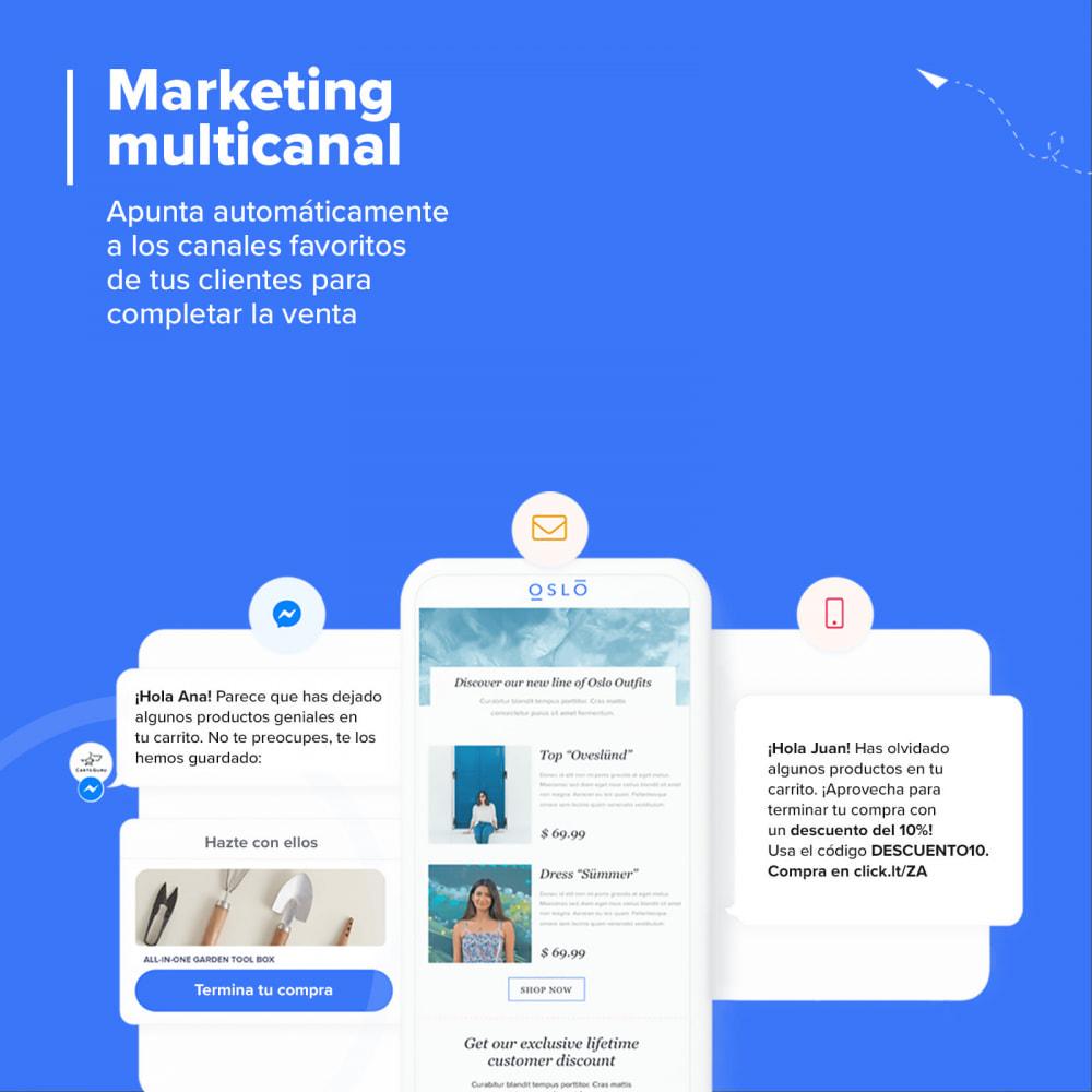 module - Remarketing y Carritos abandonados - Carts Guru | SMS, email y Facebook messenger marketing - 4