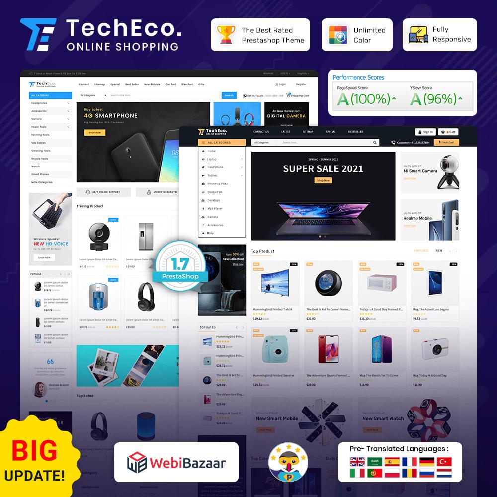 theme - Electrónica e High Tech - TechEco  - The Online Shopping - 1