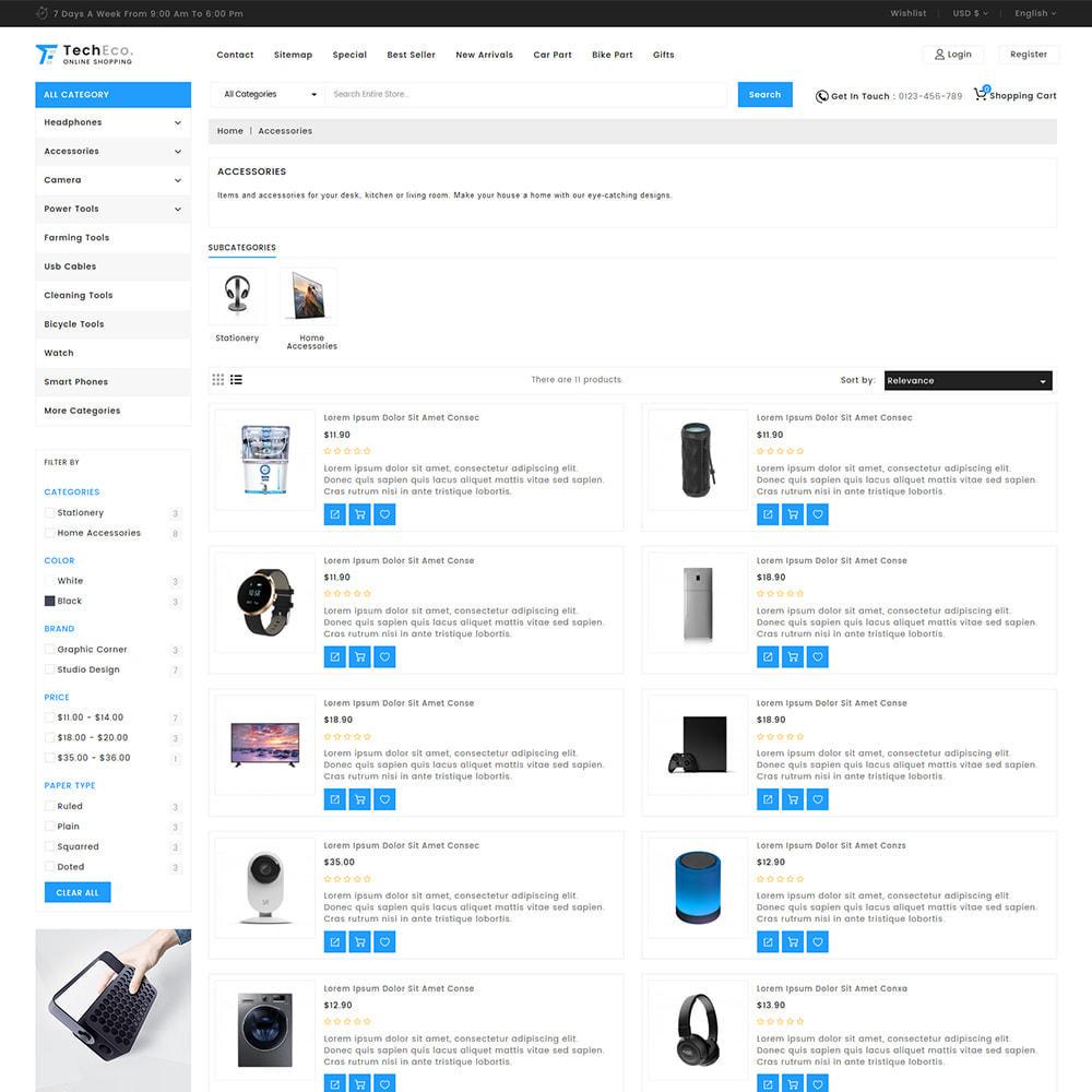theme - Electrónica e High Tech - TechEco  - The Online Shopping - 6
