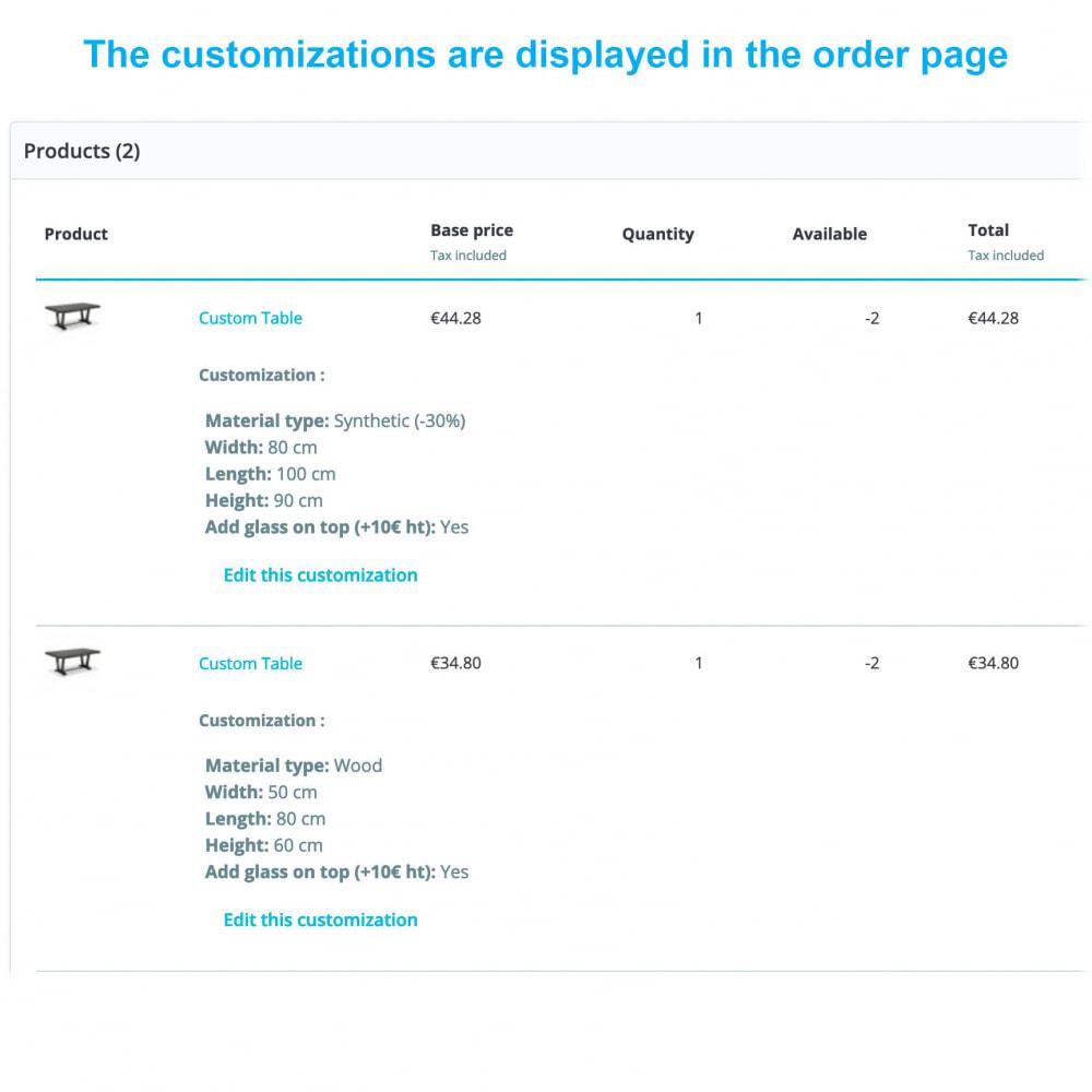 module - Sizes & Units - Dynamic Product Price - 4