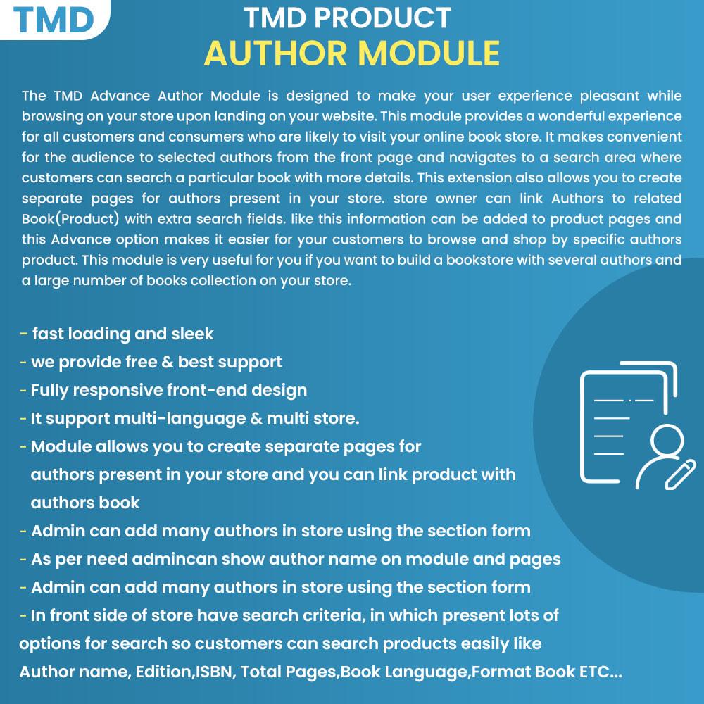 module - Navigation Tools - Advance Author - 1