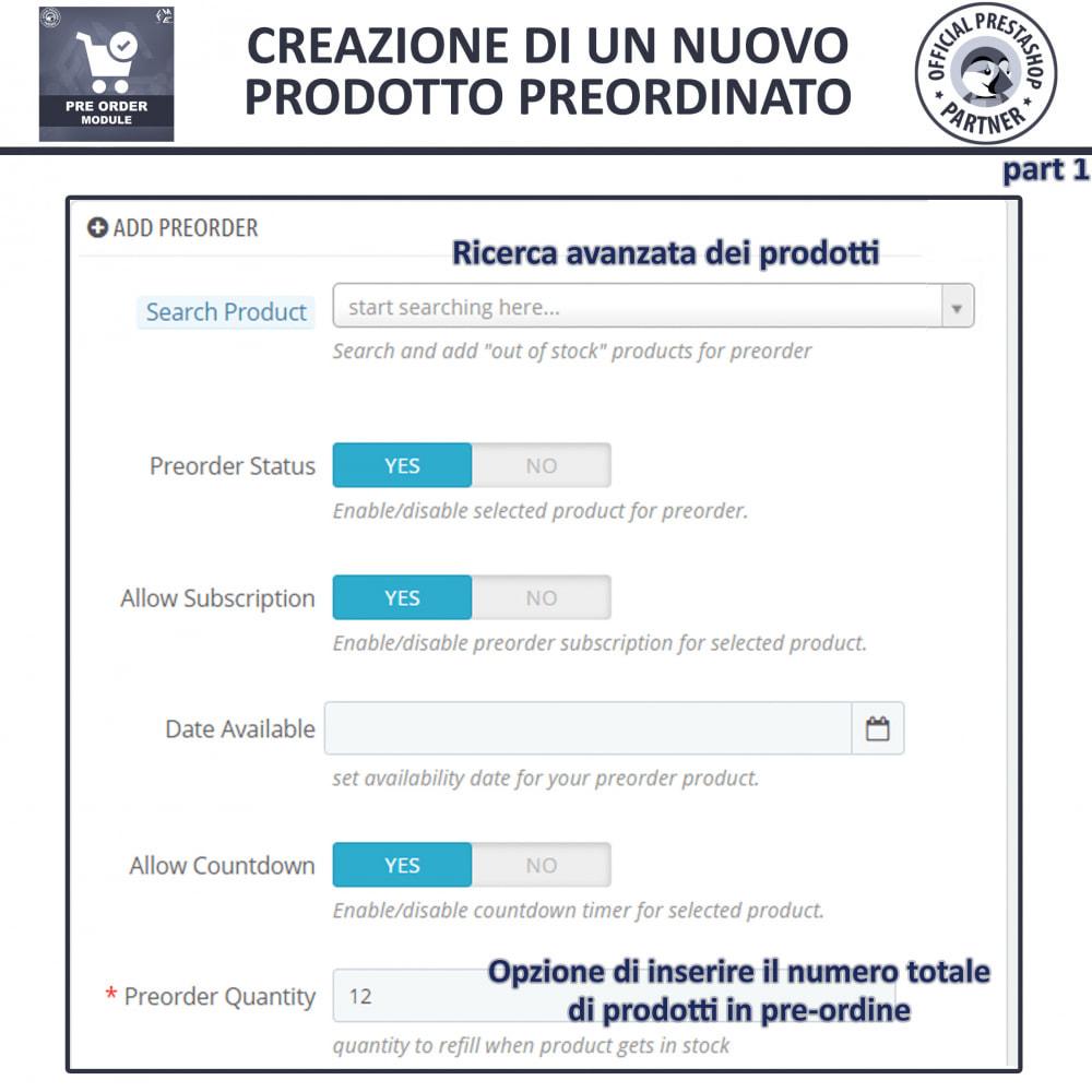 module - Iscrizione e Processo di ordinazione - Pre-Order - Advance Booking | Out of Stock Selling - 10