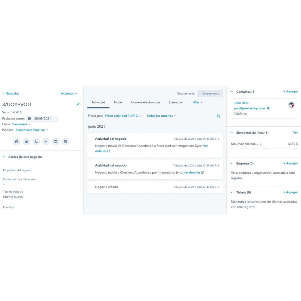 module - Remarketing & Compras abandonados - Integração de comércio eletrônico HubSpot - 12