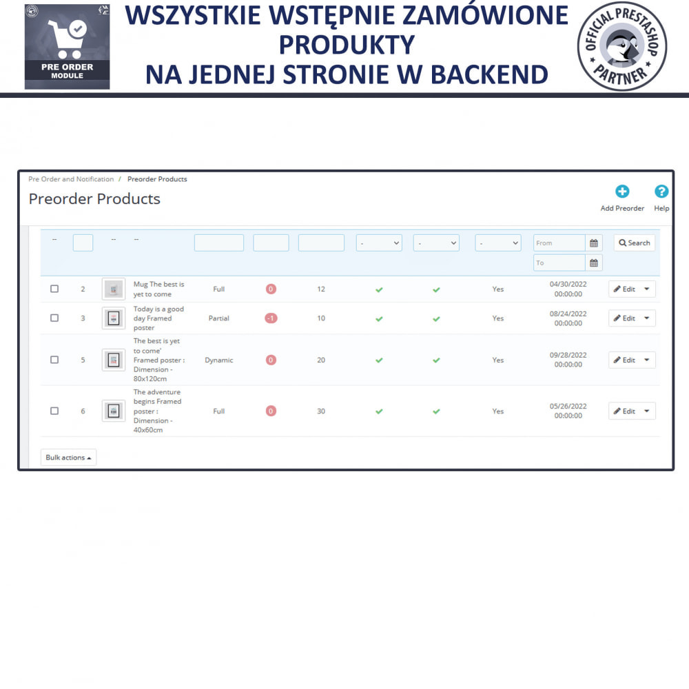 module - Procedury składania zamówień - Pre-Order - Advance Booking   Out of Stock Selling - 9