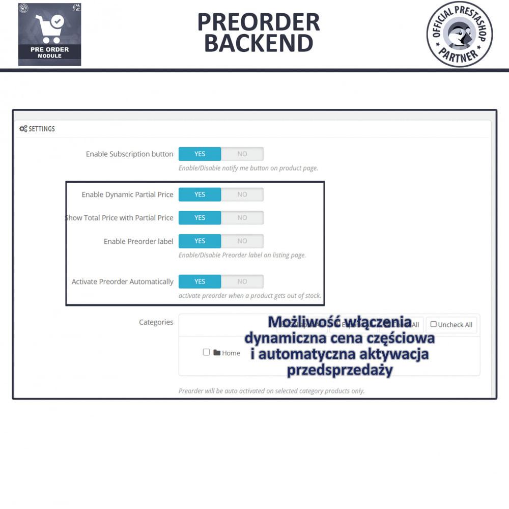 module - Procedury składania zamówień - Pre-Order - Advance Booking   Out of Stock Selling - 13