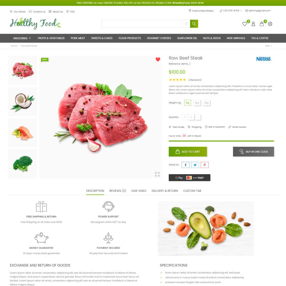 theme - Food & Restaurant - Healthy Food - Supermarket, Restaurant, Organic, Wine - 5