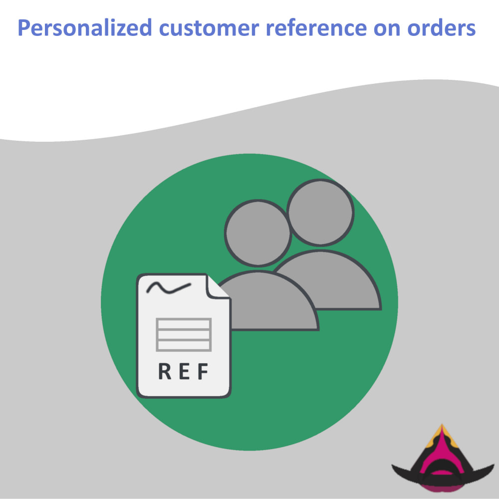 module - Accounting & Invoicing - Personalized customer reference on orders - 1