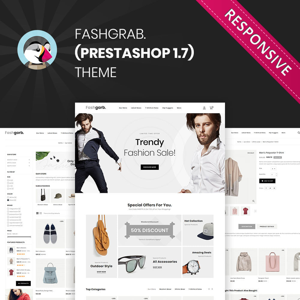 theme - Fashion & Shoes - Fashgarb - The Ultimate Fastion Store - 1