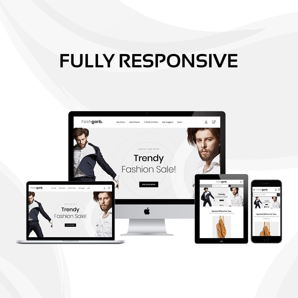 theme - Fashion & Shoes - Fashgarb - The Ultimate Fastion Store - 2