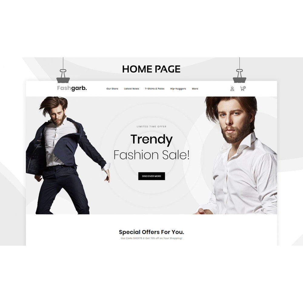 theme - Fashion & Shoes - Fashgarb - The Ultimate Fastion Store - 3