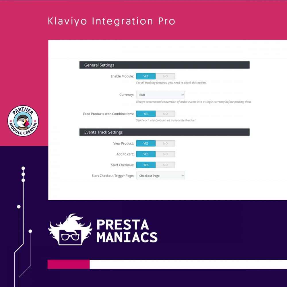 module - Notifications & Automatic Emails - Klaviyo Integration Pro - 2