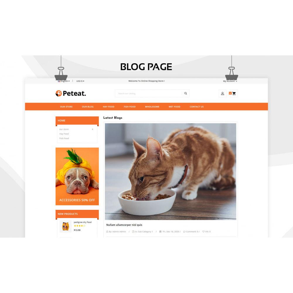 theme - Animals & Pets - Peteat - The Pet Store - 7