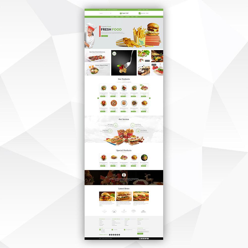 theme - Food & Restaurant - Vegan Food - 2