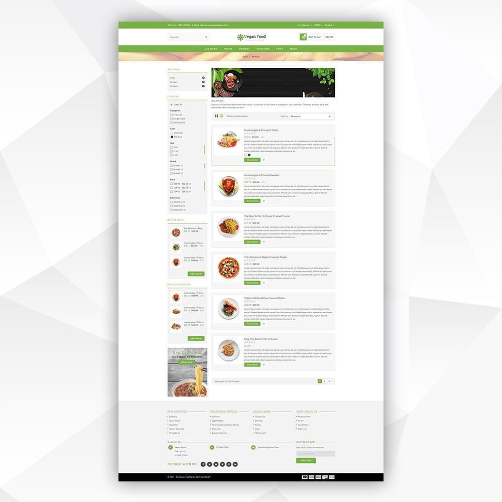 theme - Food & Restaurant - Vegan Food - 4