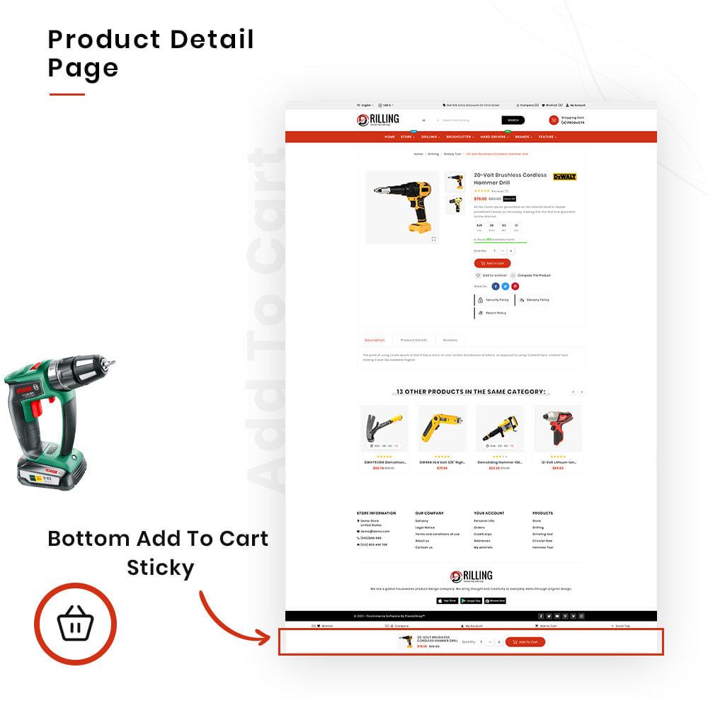 theme - Automotive & Cars - Drilling Mega SparePart–Car and Machine–Tools Store - 4