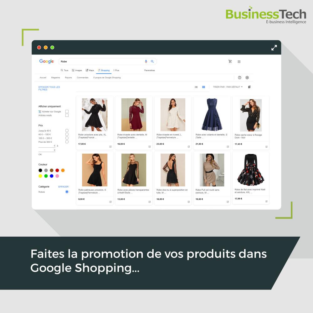 module - Comparateurs de prix - Google Merchant Center (Google-Shopping) - 1