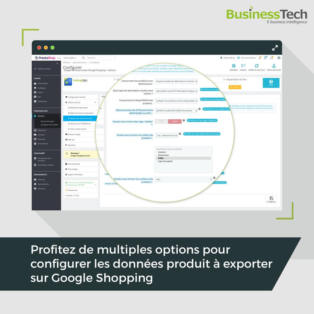 module - Comparateurs de prix - Google Merchant Center (Google-Shopping) - 6