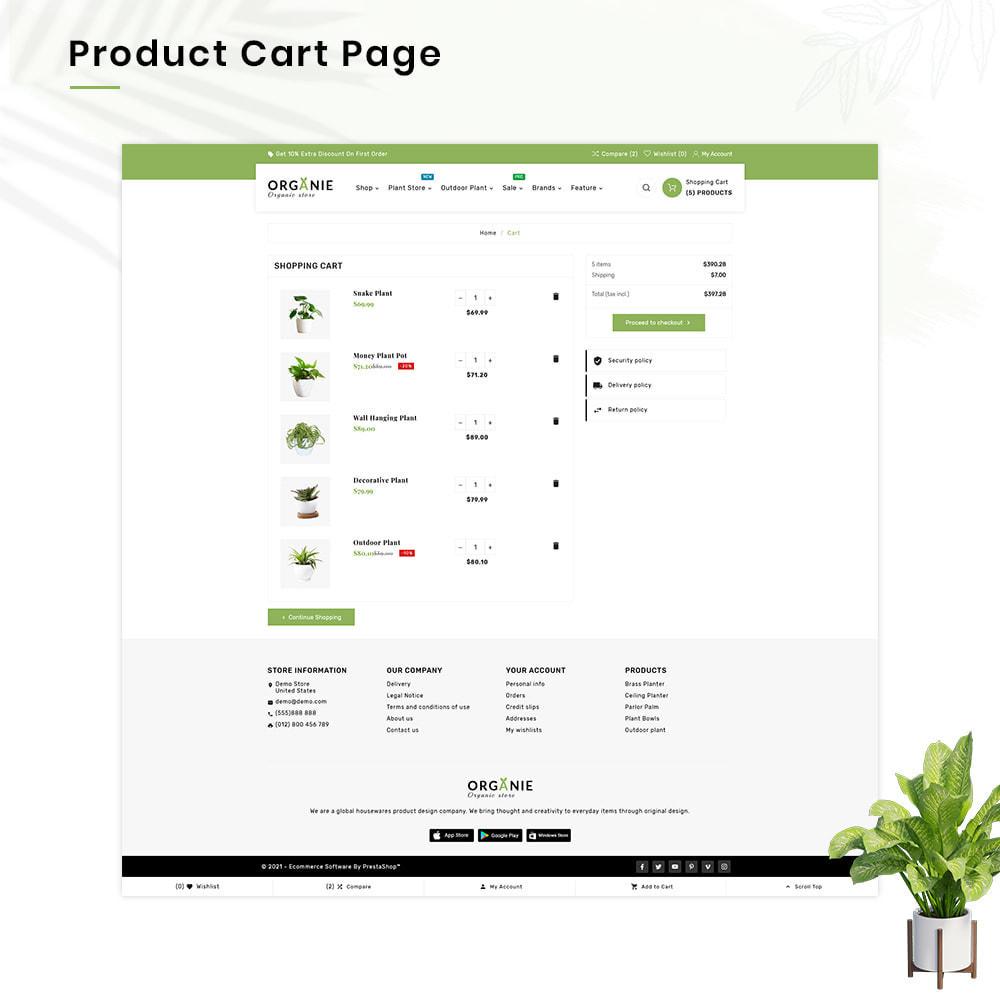 theme - Casa & Giardino - Organe Organic–Plant and Craft–Tools Store - 5